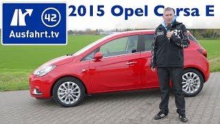 2015 Opel Corsa E Turbo Benziner - Fahrbericht der Probefahrt - Test - Review