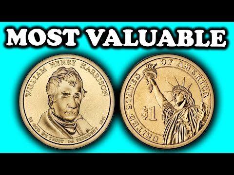 MOST VALUABLE DOLLAR COINS WORTH MONEY - PRESIDENTIAL DOLLAR COIN ERRORS