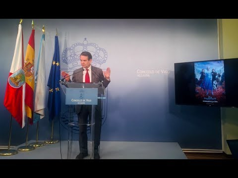Abel Caballero anuncia el preeestreno de Frozen II en Vigo