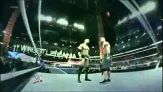 The Rock vs John Cena Wrestlemania 29 WWE Title Promo, GREATNESS VS REDEMPTION