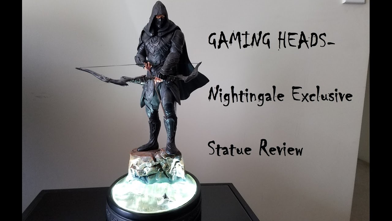 Gaming Heads - Skyrim Nightingale Exclusive Statue Review