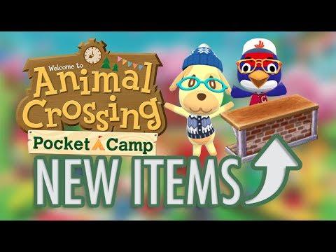 Animal Crossing - Update Brings NEW ITEMS