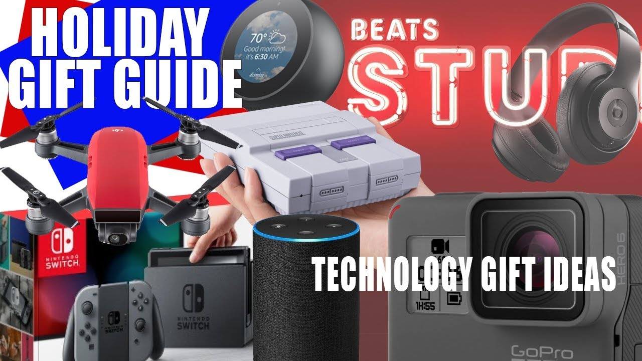 top tech gift ideas holiday christmas season