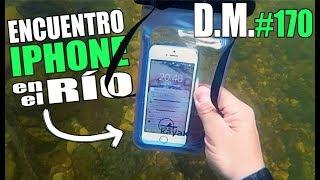 ENCUENTRO un iPhone ENCENDIDO en el río (lo devuelvo) - Detección Metálica 170