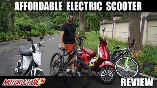 Affordable Electric Scooter Review   Hindi   Motoroctane