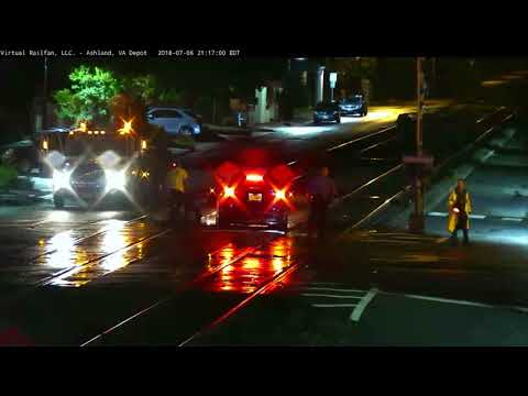Shocking! Another Car on the Tracks in Ashland