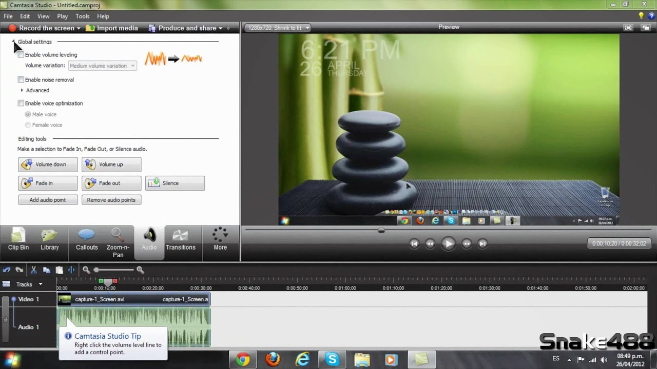 how to add subtitles in camtasia studio