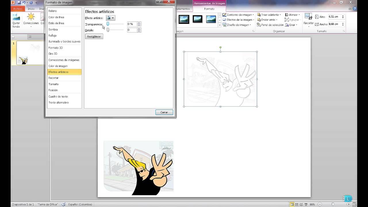 Como Hacer Dibujos para Colorear con PowerPoint Muy Fácil - YouTube