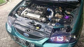 Ford Lynx turbo TD05HR+haltech ps500 tes askelrasi