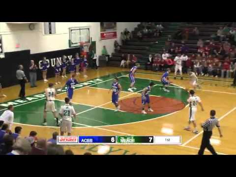 Cloverport vs. Meade County Boys 11th District Tournament