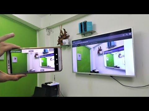 Wirelessly live stream your phone camera on smart tv for Camera it web tv