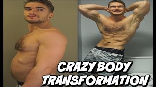 Insane Weight Loss Transformation (30 Days) 2019! FAKED   BodyBuilding Transformation