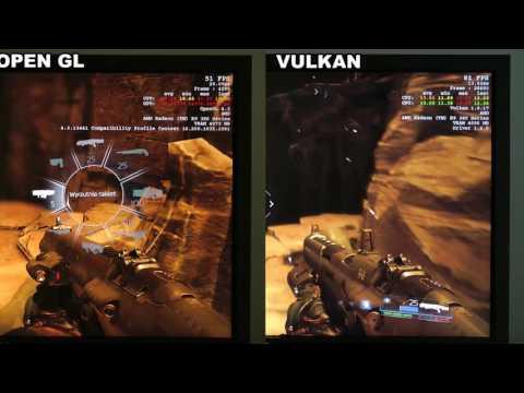 TEST API Vulkan vs OPEN GL - AMD R9 380 4GB - porównanie wydajności