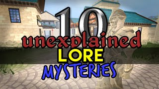 Runescape - 10 Unexplained Lore Mysteries