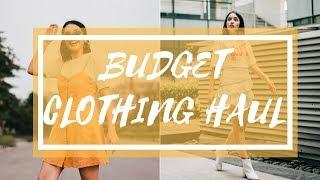 Clothing Haul- H&M, Sarojni Nagar, etc   DIKSHA RAWAT