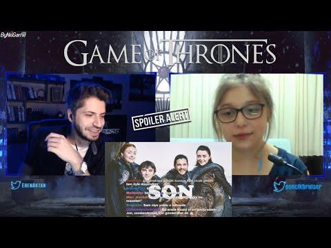 Game Of Thrones FİNAL Kurcuklama(SPOILER) w/BernaEceGündüz