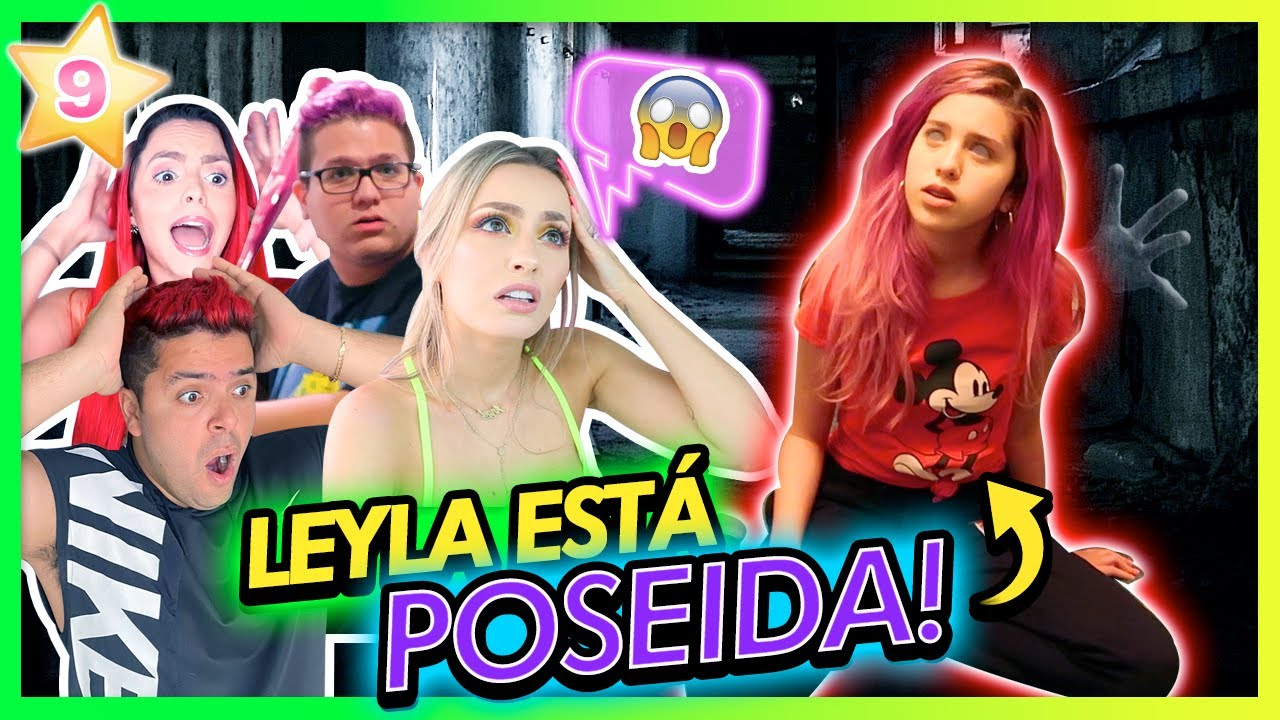 LEYLA ESTÁ POSEÍDA???!😱 AYUDA!!!! | CAP 9 TEAM ANGEL