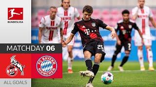 1. FC Köln - FC Bayern München | 1-2 | All Goals | Matchday 6 – Bundesliga 2020/21