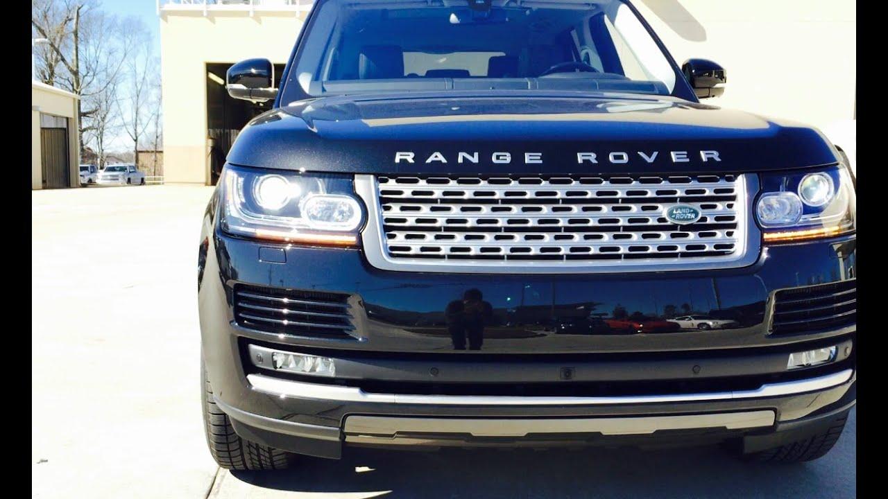 Range Rover Supercharged 2016 >> 2016 Range Rover Supercharged Full Review /Exhaust /Start