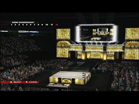 wwe 2k14 custom arenas tdwf havoc vendetta gold rush