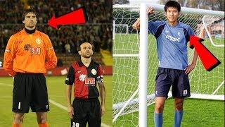 Dünya'nın Gelmiş Geçmiş EN UZUN 10 Futbolcusu • HD