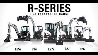 Video still for NEW Bobcat R-SERIES, 2-4T Excavators Range