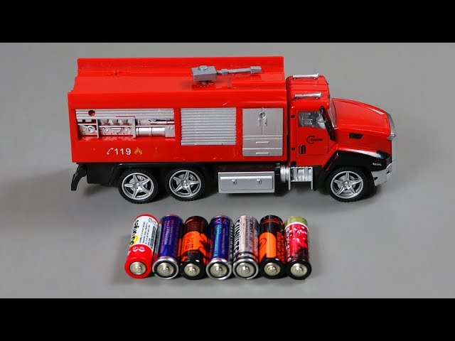 Cars for kids - Learning Street Vehicles Names And Sounds | Toy Fire Truck Vehicles For Children