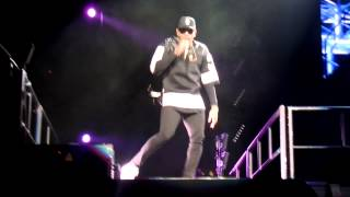 Chris Brown- Turn up the music live