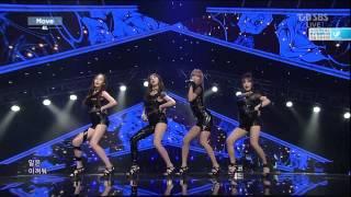 2014 09 14 인기가요 inkigayo 4l 포엘 move 무브