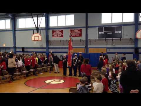 Wreaths Across America, Thomas Prince School, 12//10/13