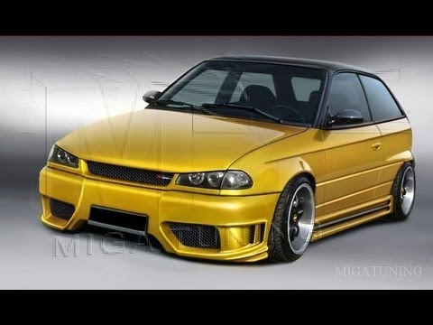 opel astra f tuning body kits youtube. Black Bedroom Furniture Sets. Home Design Ideas