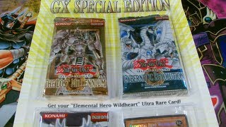 Best Yugioh GX Special Edition Booster Pack Opening! .....