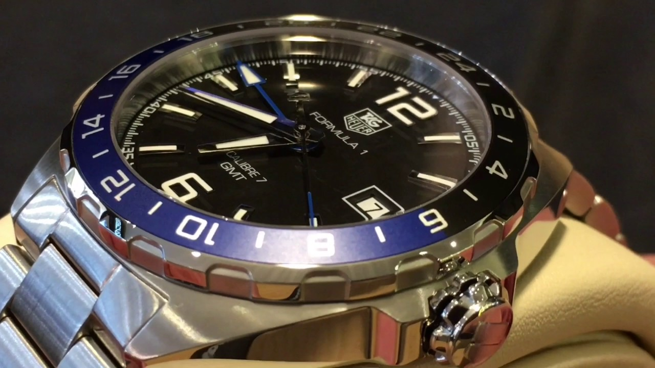 This Tag: TAG HEUER GMT BLACK & BLUE BEZEL CALIBRE 7 FORMULA 1