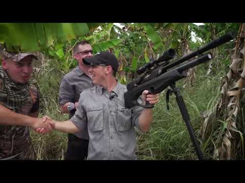 Long Distance Iguana Hunting In Puerto Rico