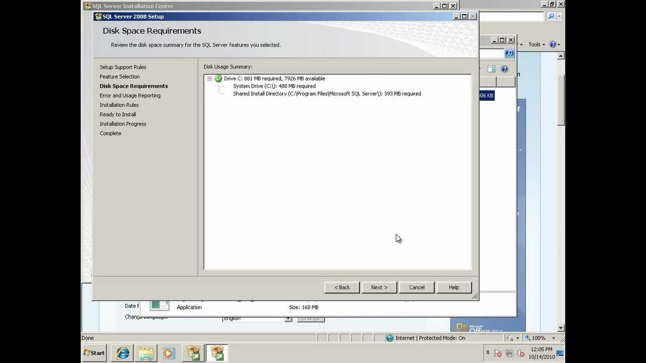 How to install SQL Server 2008 Management Studio Express on Windows 7
