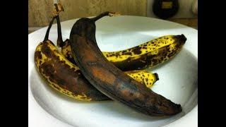 ★ Почерневшие бананы  способны бороться даже с раковыми клетками. Польза почерневших бананов