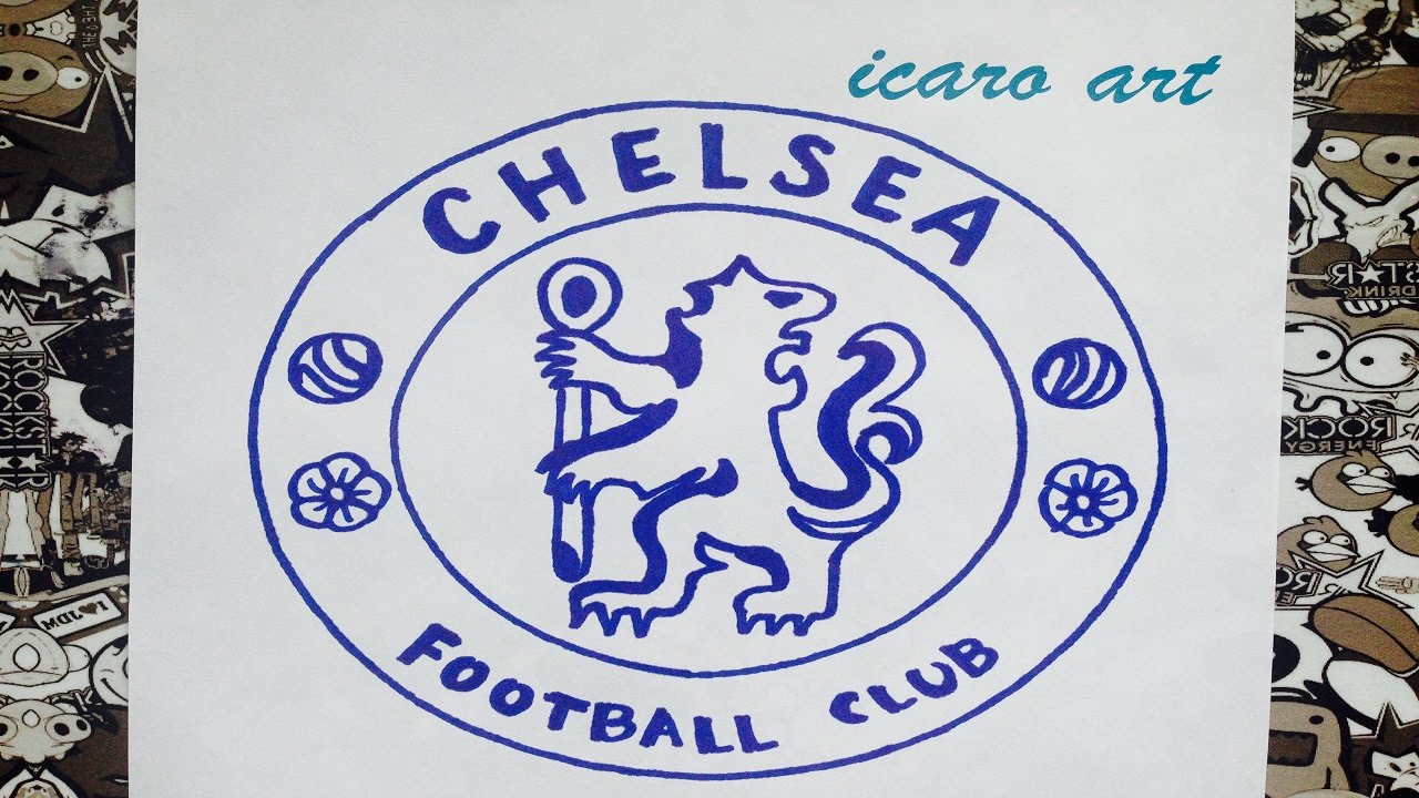 Como dibujar el escudo de chelsea how to draw chelsea fc logo como dibujar el escudo de chelsea how to draw chelsea fc logo youtube voltagebd Gallery