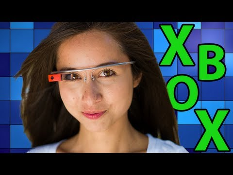 Xbox One (Kinect) Augmented Reality Glasses