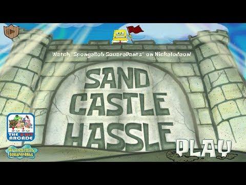 SpongeBob SquarePants: Sand Castle Hassle - Sand in your Pants (Nickelodeon Games)