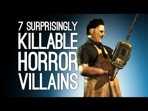 7 Horror Movie Villains Way More Killable in Games