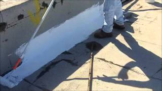 How to Repair a Flat Roof - Parapet Wall L-Flashing