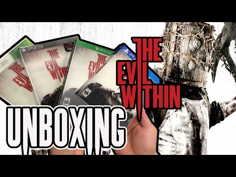The Evil Within Unboxing (Xbox 360 / PS3 / Xbox One / PS4 )