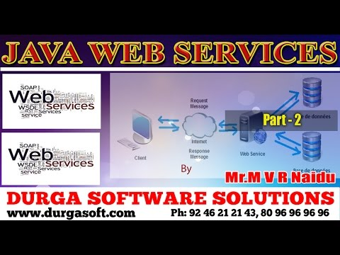 Java Webservice || WebServices Part - 2 by MVR Naidu