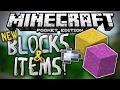 NEW BLOCKS & ITEMS - Concrete, Iron Nuggets, More! - MCPE 1.1 Update - Minecraft PE (Pocket Edition)