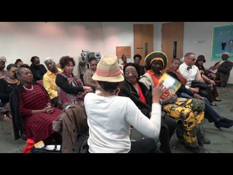 Dialog at Black Women History Month Traveling to Africa Program