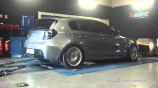 BMW 120d 177cv Reprogrammation Moteur @ 214cv Digiservices Paris 77 Dyno