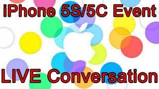 apple iphone 5s iphone 5c ios 7 media event live conversation