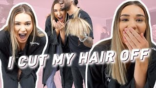 Newly created vlog video from Shani Grimmond: I CUT MY HAIR OFF | VLOG