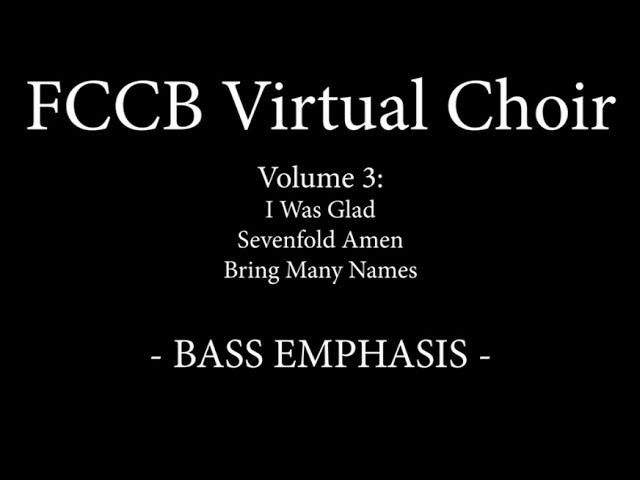 FCCB Vol 3 Singalong -  Bass