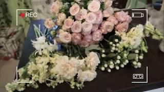 VLOG: Базовый курс флористики. Свадебные букеты  // 09.08.2018